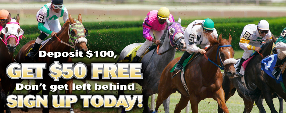Deposit $100 Get $50 Free. Sign up today.